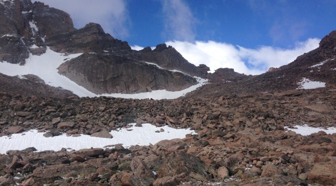 The story I wanted to tell: climbing Longs Peak