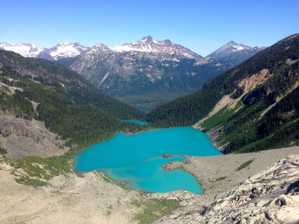 Joffre Lakes Provincial Park, British Columbia Backpacking