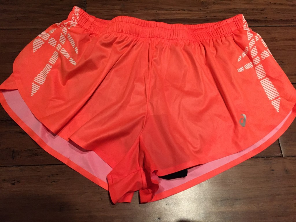 Asics running shorts
