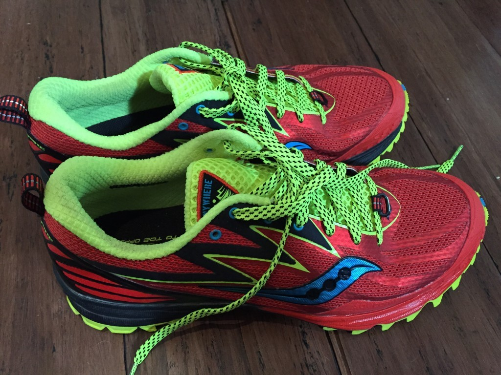 Saucony Peregrine 5 shoes hiking