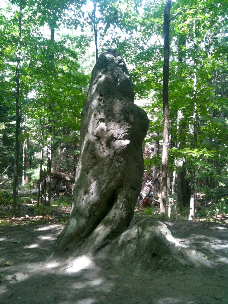 Giant's thumb near Mount Prospect at Salisbury, Connecticut. Photo credit: Morrow Long