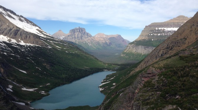 Gunsight Pass Traverse, Glacier National Park