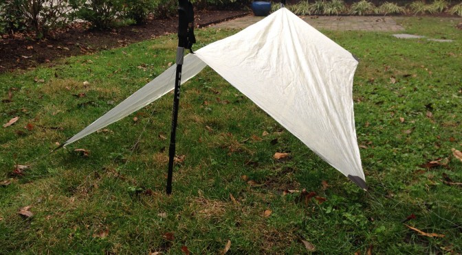 DIY: Two ounce cuben fiber tarp