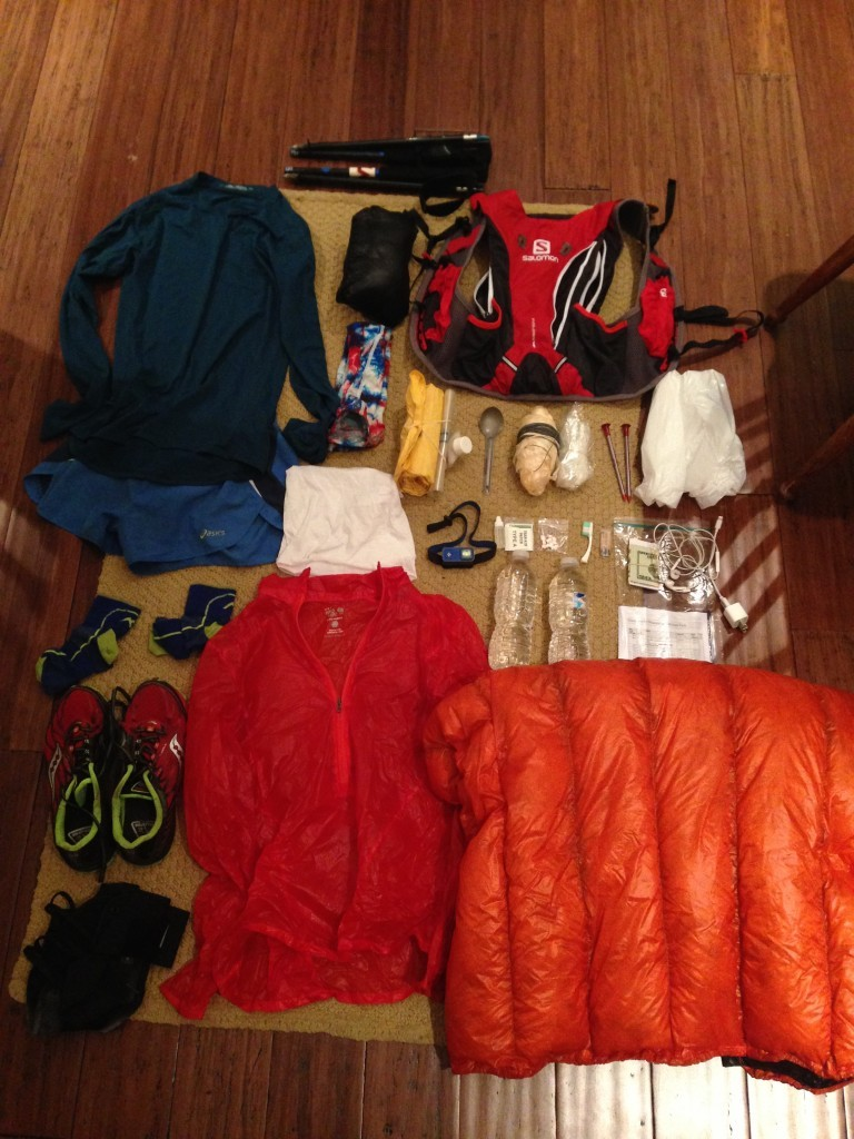 Ultralight backpacking, Grayson Cobb, Gear List, Salomon 10+3