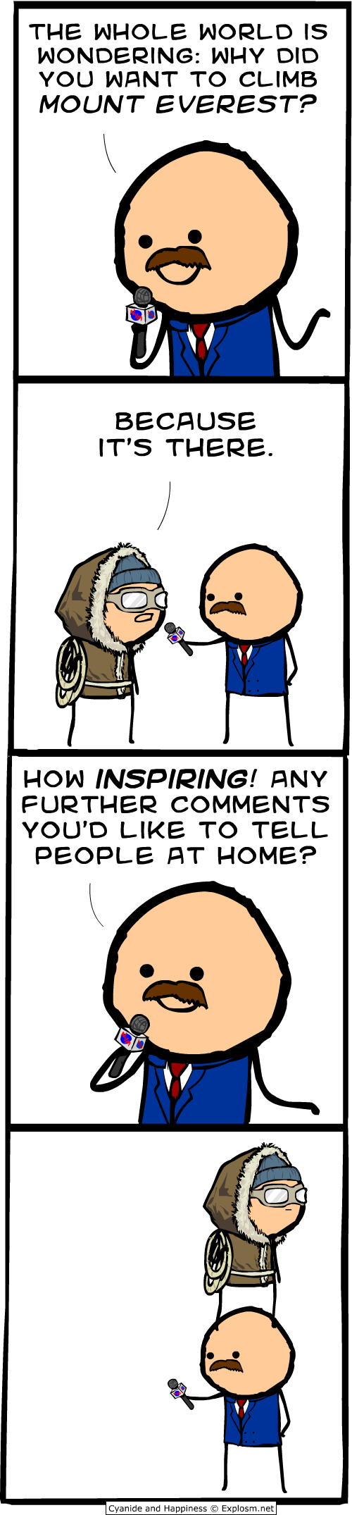 Cyanide and Happiness Everest