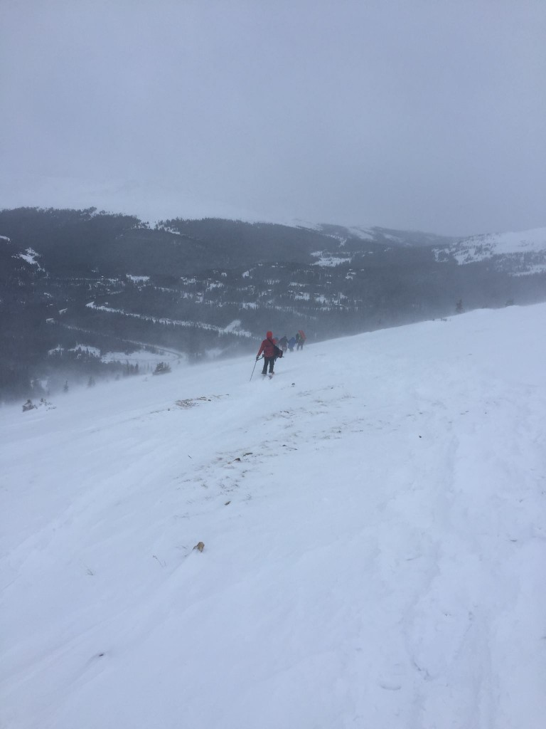 Quandary winter 14er rescue Colorado