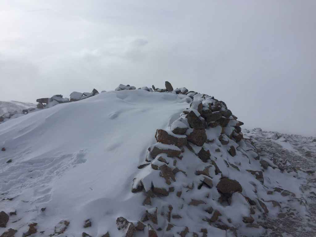 Summit of Mt. Bross