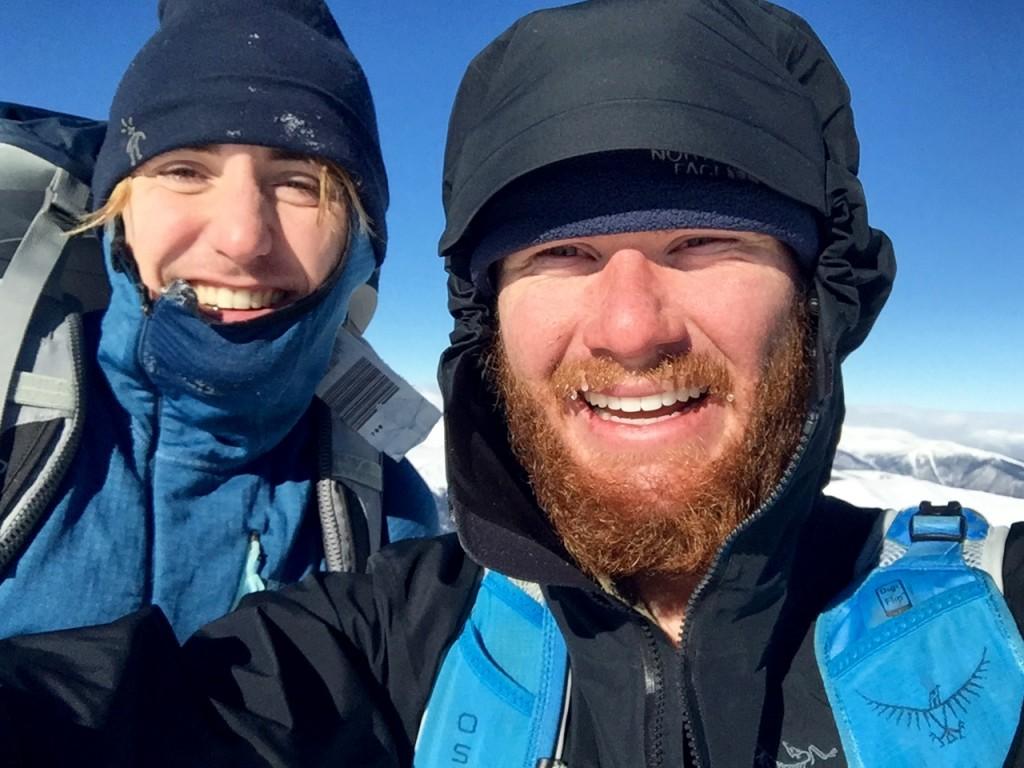 Mt. Bierstadt selfie