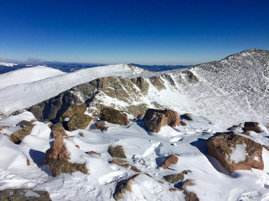 Mt. Evans north ridge