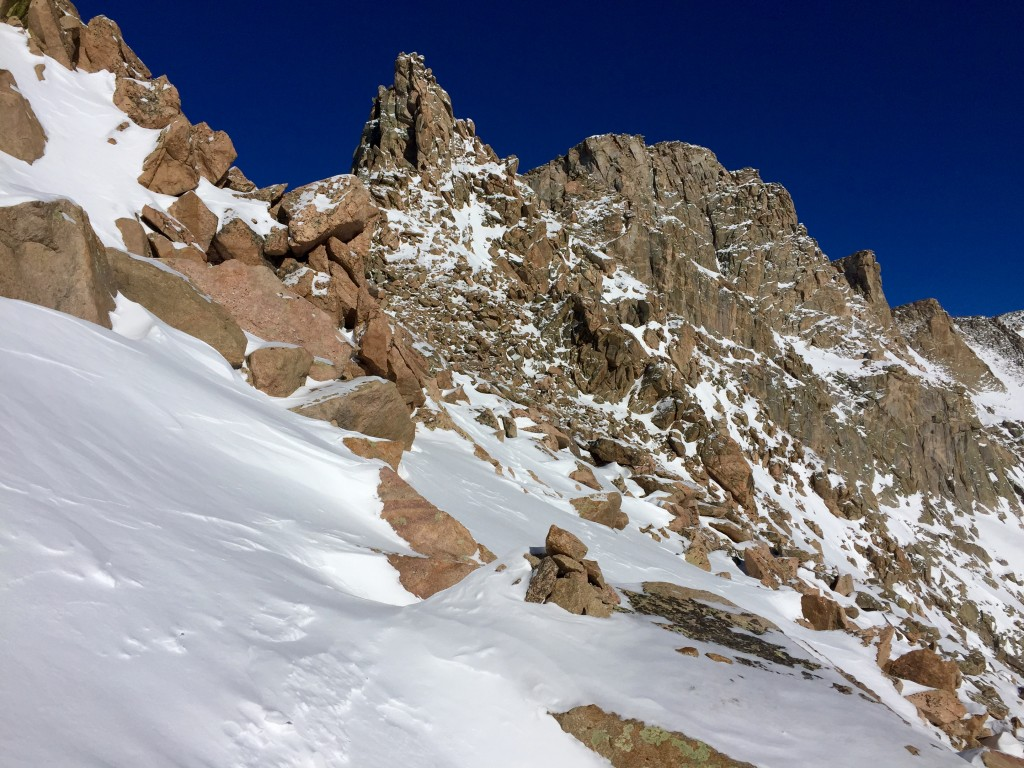 Sawtooth Ridge Colorado winter