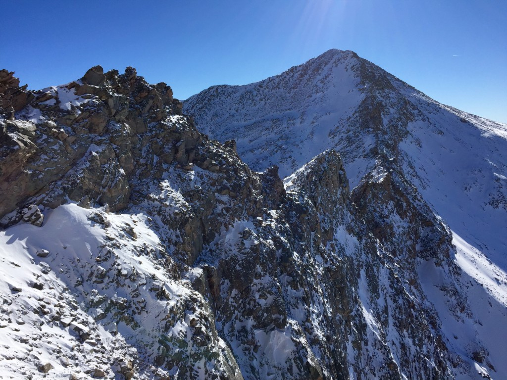 Bierstadt, Sawtooth, Evans winter loop