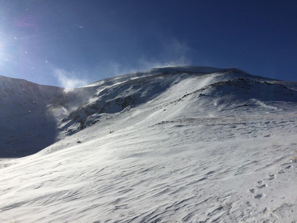 Mt. Elbert winter 14er