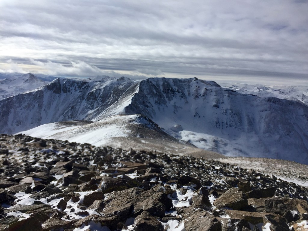 Belford, Oxford, Missouri winter 14ers