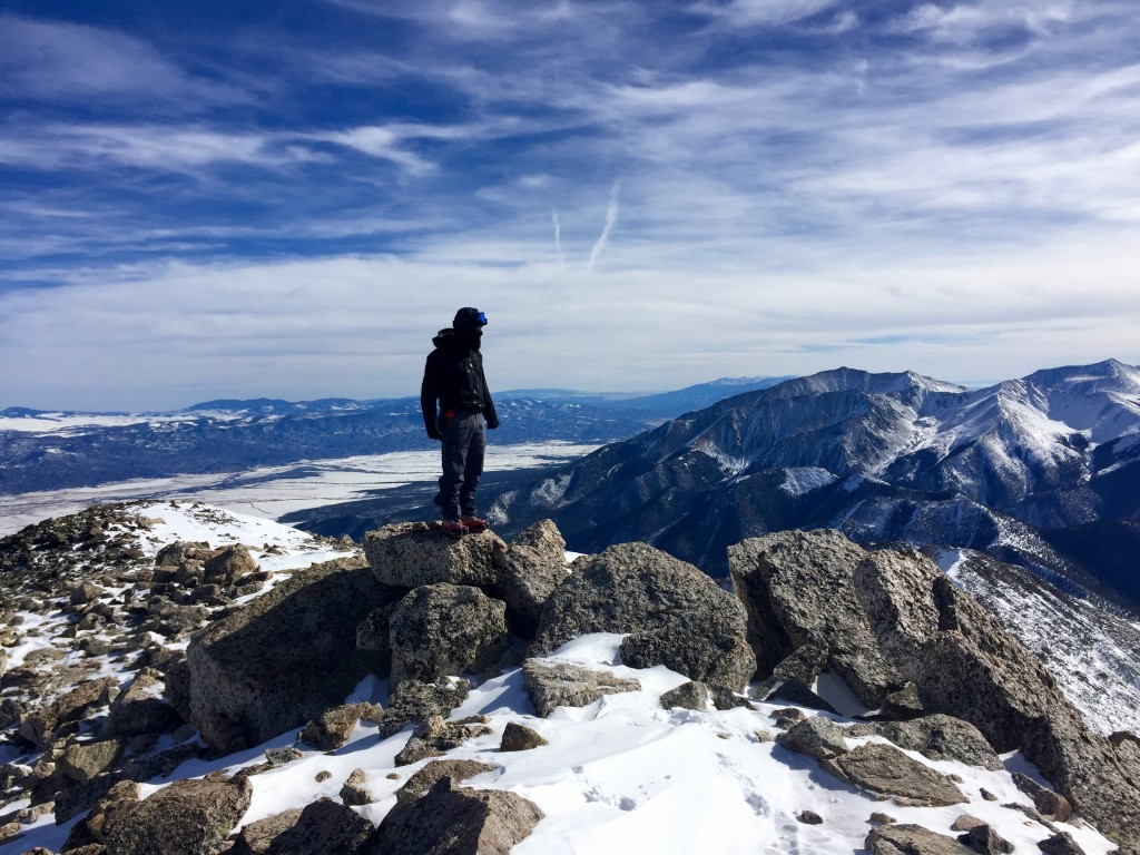Mt. Yale winter summit