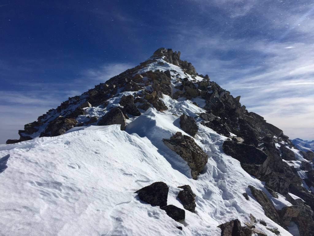 Mt. Yale winter 14ers