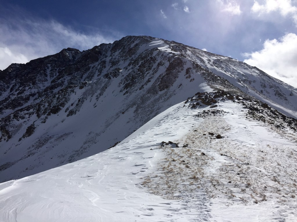La Plata Peak winter 14ers