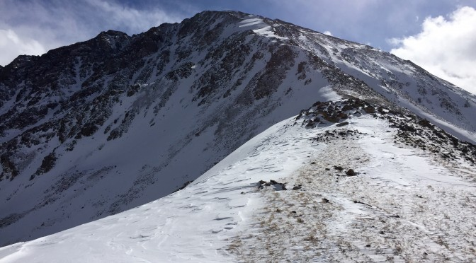 La Plata Peak winter 14er