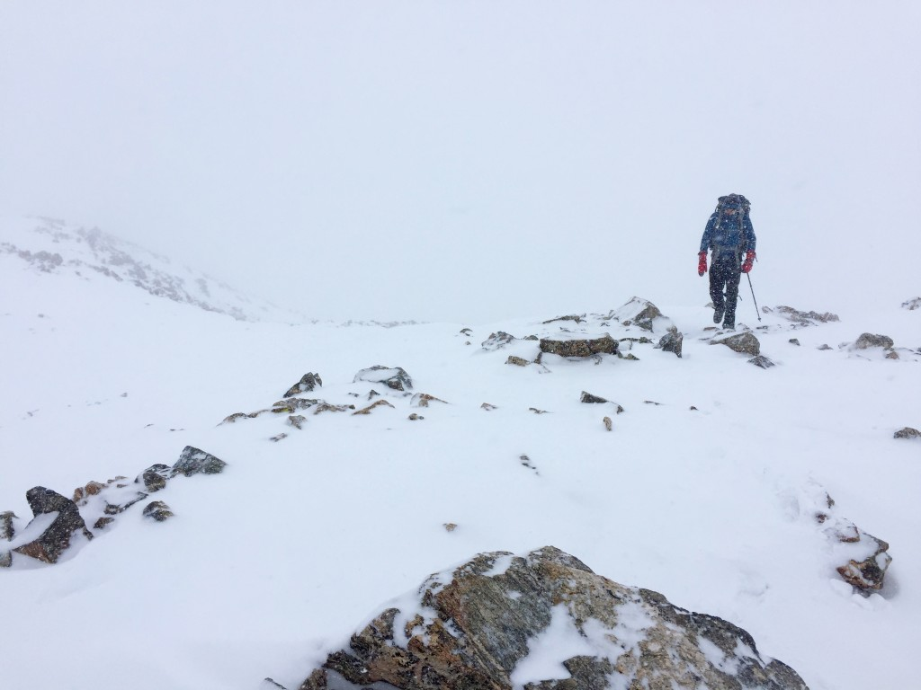 La Plata Peak winter