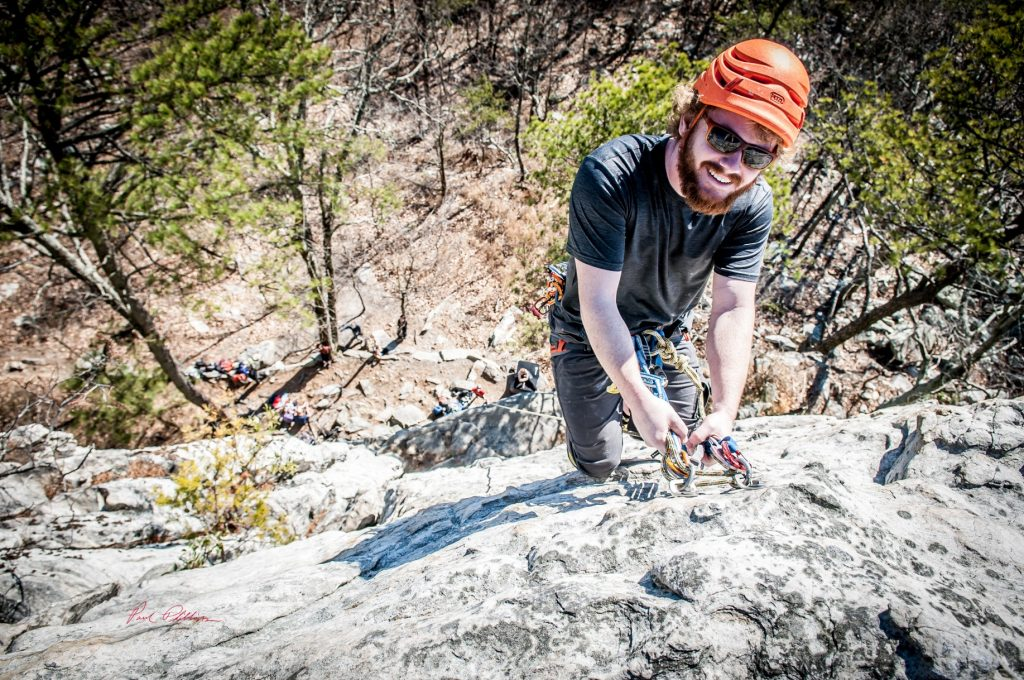 Rock Climbing at Pilot Mountain Grayson Cobb