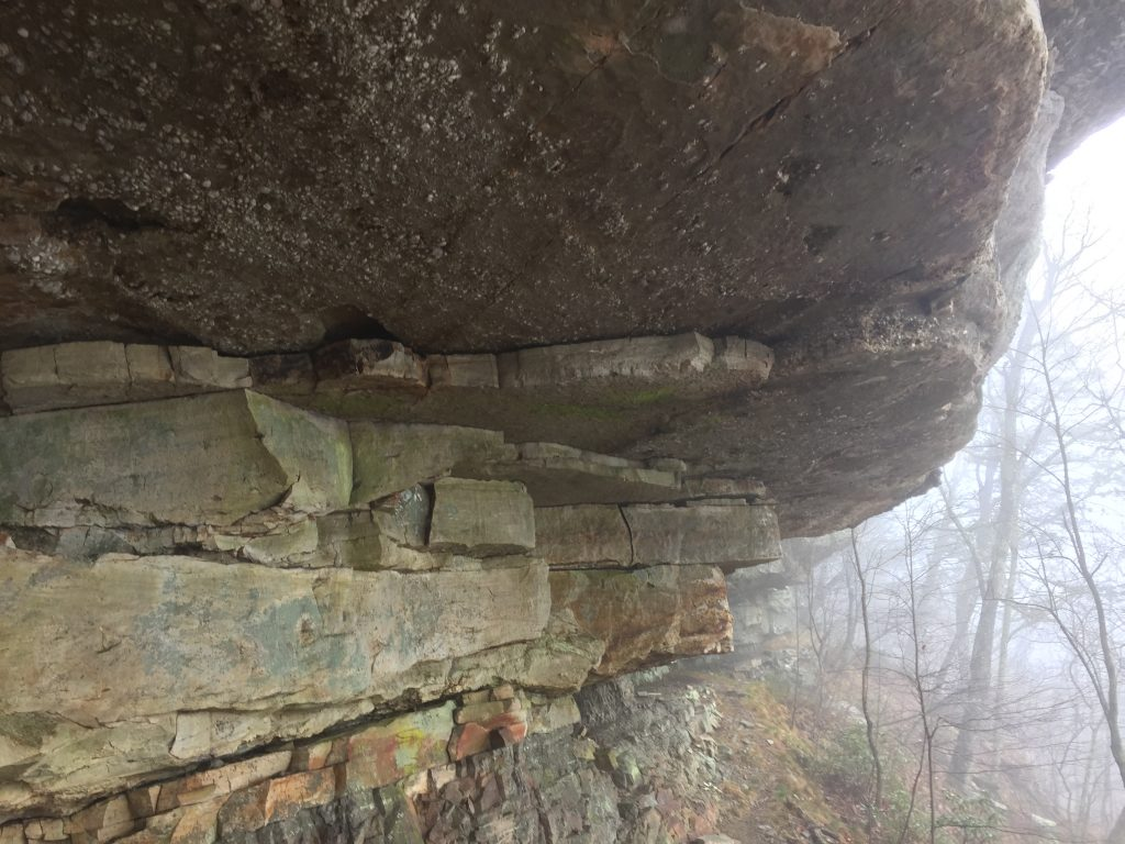 Bouldering Tinker Cliffs