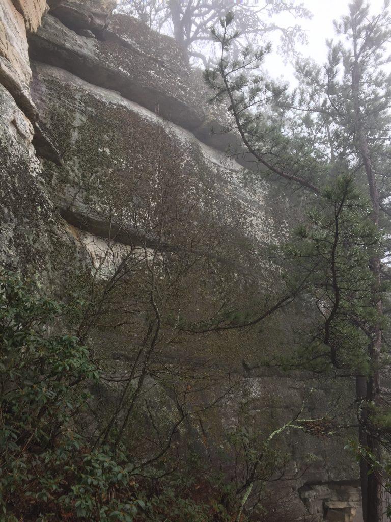 Trad climbing tinker cliffs