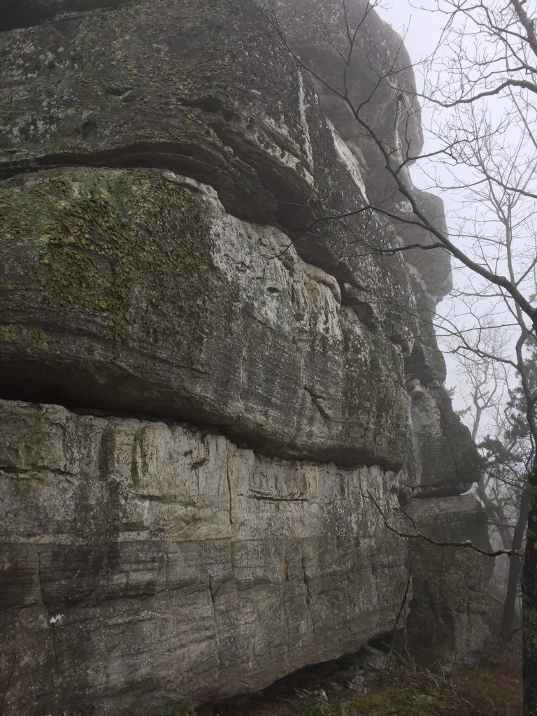Tinker Cliffs bouldering