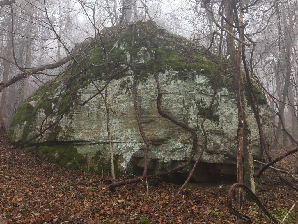 bouldering Appalachian Trail