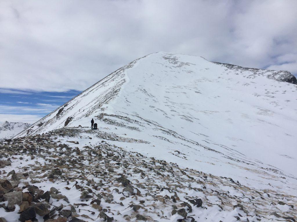 Quandary Peak winter