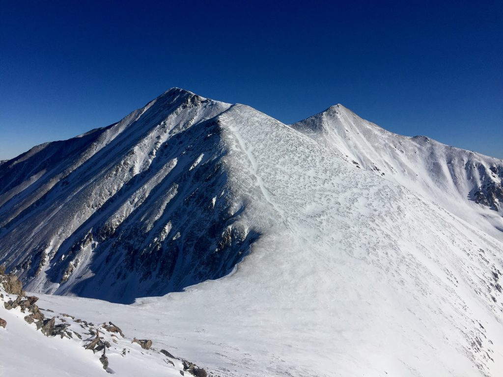 Grays and Torreys Winter 14er Colorado