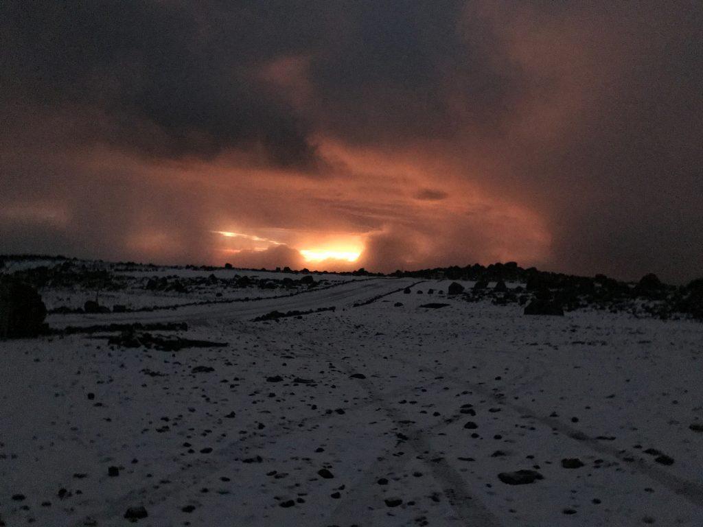 Sunset Chimborazo
