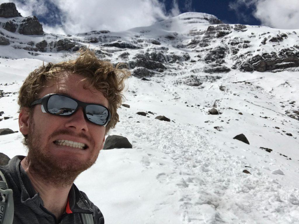 Chimborazo Mountain Ecuador