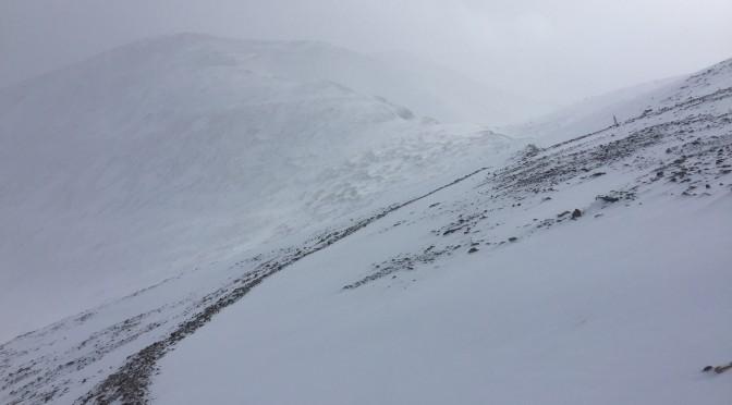 Winter climb Mt. Democrat [VIDEO]