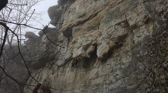Tinker Cliffs Rock climbing Appalachian Trail